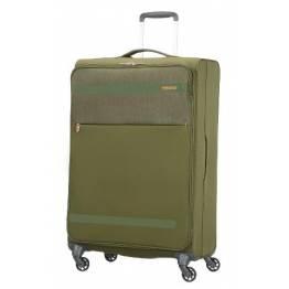 American Tourister куфар Herolite 74 см - зелен