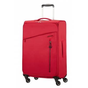 American Tourister Куфар Litewing 70 см - червен
