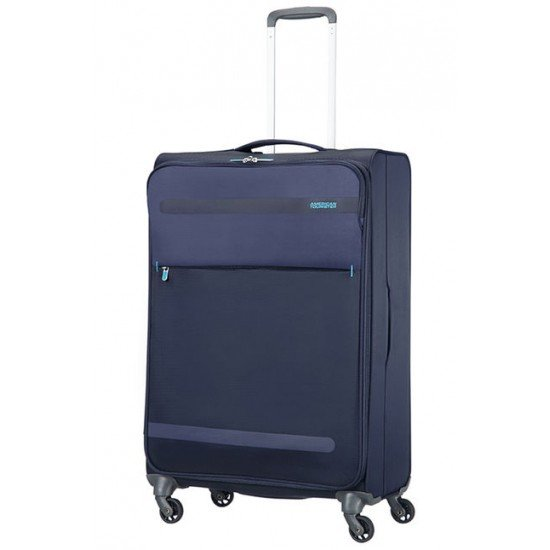 American Tourister куфар Herolite 74 см - тъмно син