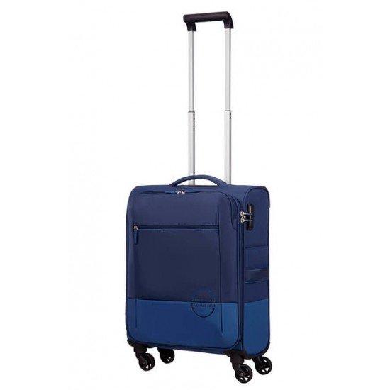 American Tourister Куфар Instago 55 см - тъмно син/светло син