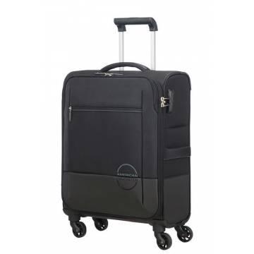 American Tourister Куфар Instago 55 см - черен/тъмно сив