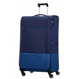American Tourister куфар Instago 81 см - тъмно син/светло син