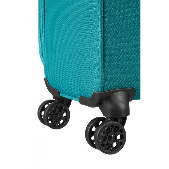 American Tourister куфар Airbeat 80 см - светло син
