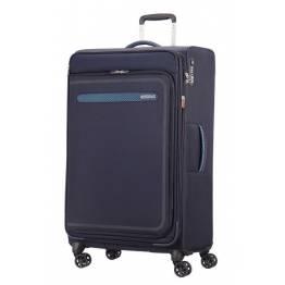 American Tourister куфар Airbeat 80 см - тъмно син