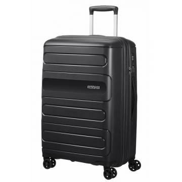 American Tourister куфар Sunside 77 см - черен