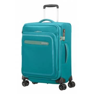 American Tourister Куфар Airbeat 55 см. - светло син