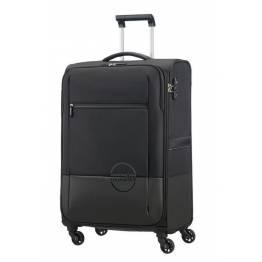 American Tourister куфар Instago 68 см - черен/тъмно сив
