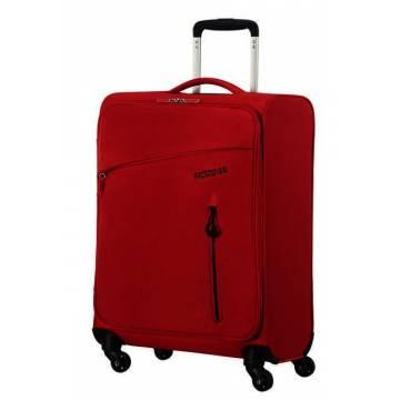 American Tourister Куфар Litewing 55 см - червен