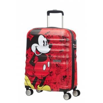 American Tourister куфар Wavebreaker Mickey 55 см - Comics Red