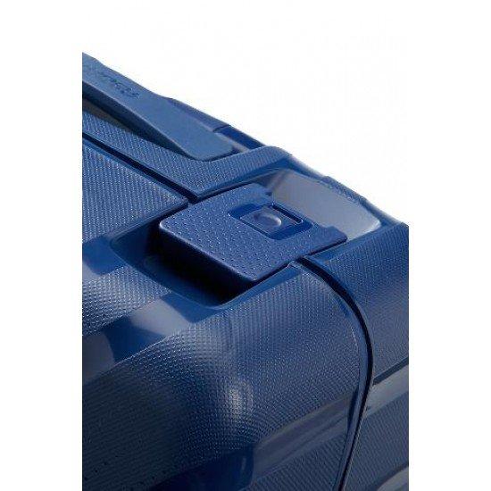 American Tourister куфар Lock'N'Roll 55 см - тъмно син