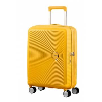 American Tourister куфар Soundbox 55 см - жълт