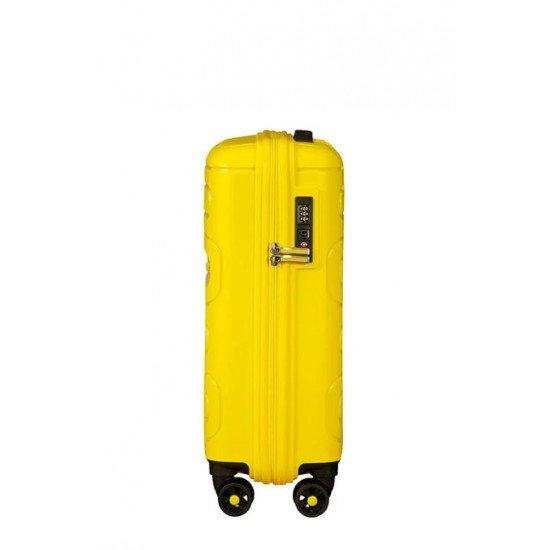 American Tourister куфар Sunside 55 см - жълт