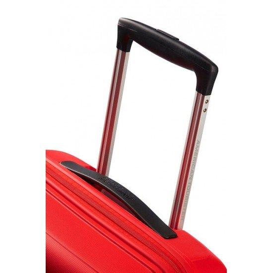 American Tourister куфар Sunside 55 см - червен