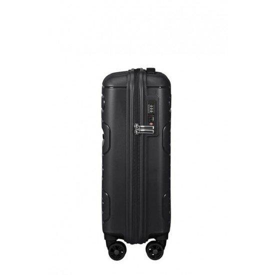 American Tourister куфар Sunside 55 см - черен