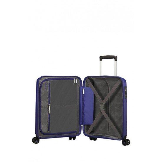 American Tourister куфар Sunside 55 см - тъмно син