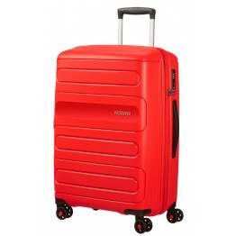 American Tourister куфар Sunside 68 см - червен