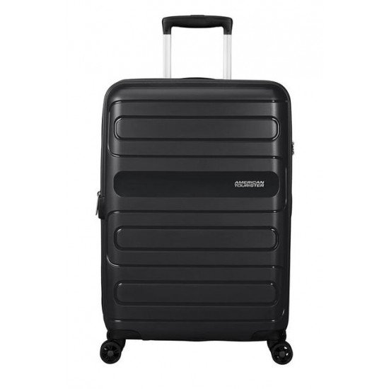 American Tourister куфар Sunside 68 см - черен