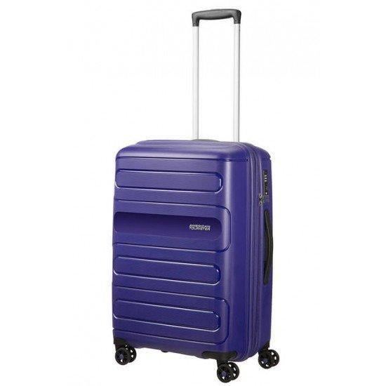 American Tourister куфар Sunside 68 см - тъмно син