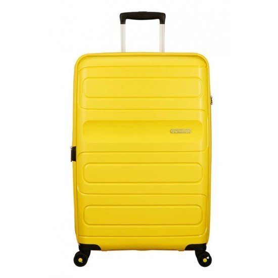 American Tourister куфар Sunside 77 см - жълт