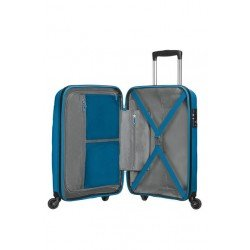 American Tourister куфар Bon Air 55 см - син