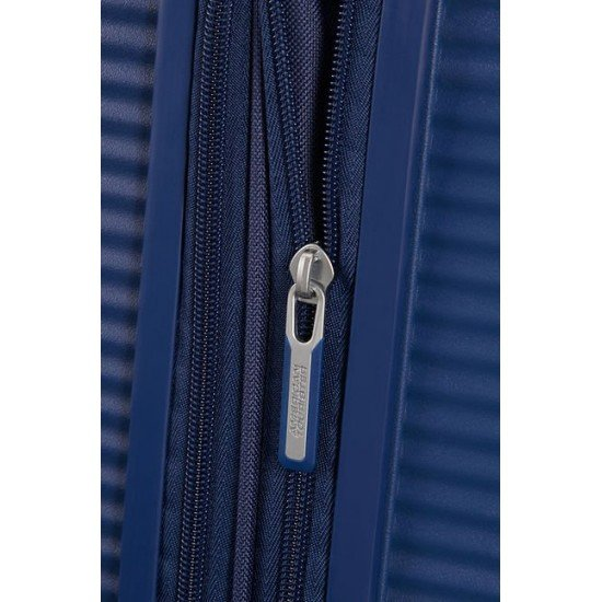 American Tourister куфар Soundbox 77 см - тъмно синьо