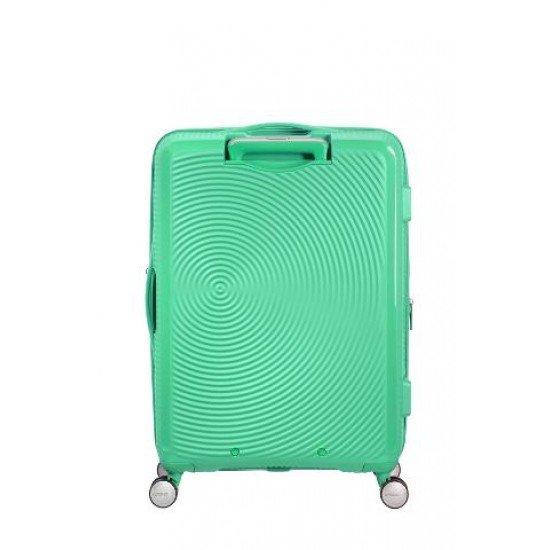 American Tourister куфар Soundbox 67 см - зелен