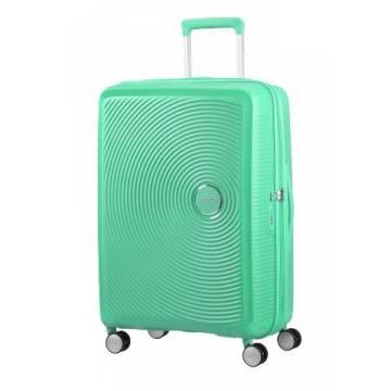 American Tourister куфар Soundbox 77 см - зелен