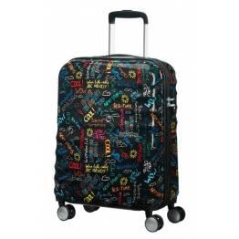 American Tourister сет от три куфара Wavebreaker 55 см, 67 см и 77 см. - Chalkboard