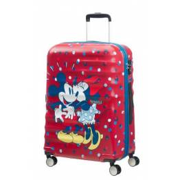 American Tourister куфар Wavebreaker Minnie Loves 67 см