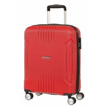 American Tourister куфар Tracklite 55 см - червен