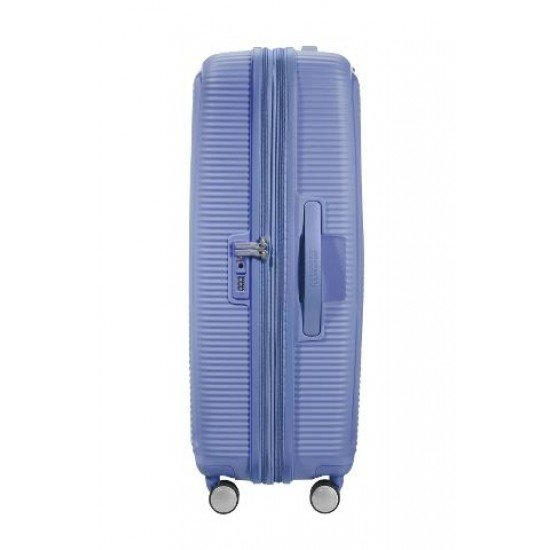 American Tourister куфар Soundbox 77 см - син