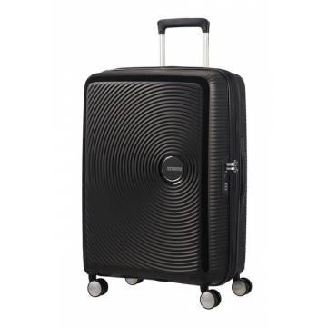 American Tourister куфар Soundbox 67 см - черен