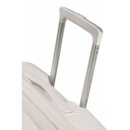 American Tourister куфар Soundbox 77 см - бял