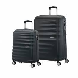 American Tourister сет от два куфара Wavebreaker 55 см и 77 см - черен