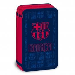 Ars Una Празен несесер с два ципа FC Barcelona Ученически пособия