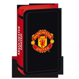 Ars Una Празен несесер с два ципа Manchester United Ученически пособия