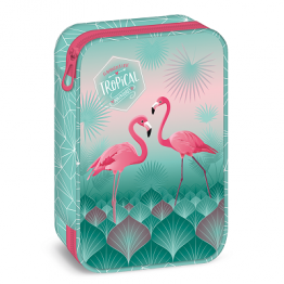 Ars Una Празен несесер на две нива - Pink Flamingo