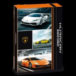 Ars Una кутия с ластик A4 Lamborghini Ученически пособия