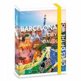 Ars Una кутия с ластик A4 Barcelona Ученически пособия