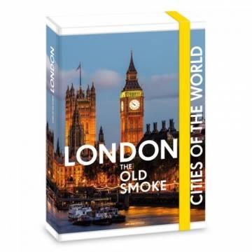 Ars Una кутия с ластик A4 London Ученически пособия