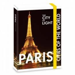 Ars Una кутия с ластик A4 Paris Ученически пособия