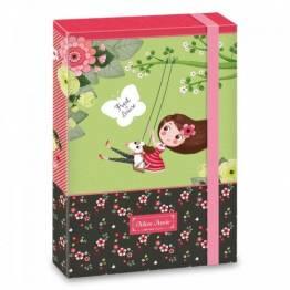 Ars Una кутия с ластик A4 Mon Amie Ученически пособия