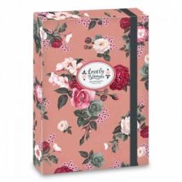 Ars Una кутия с ластик A4 Always Spring Ученически пособия
