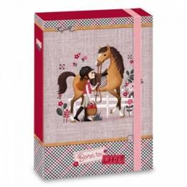 Ars Una кутия с ластик A4 Born to Ride Ученически пособия