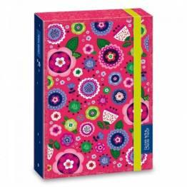 Ars Una кутия с ластик A4 La Belle Fleur Ученически пособия