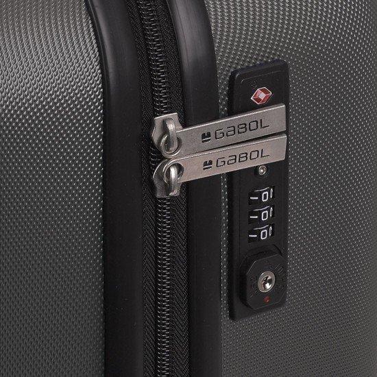 ABS куфар 55 см Paradise - графит