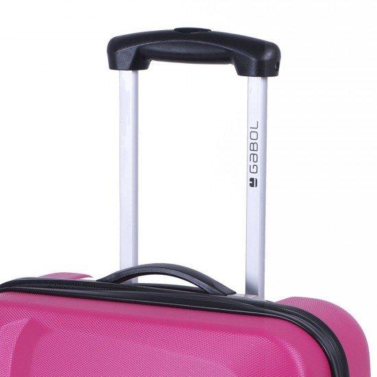 ABS куфар 55 см. цикламен - Line