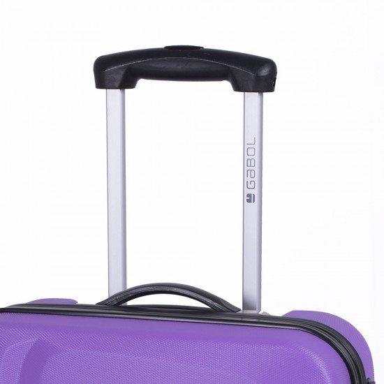 ABS куфар 55 см лилав - Line