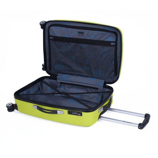 ABS куфар 68 см. зелен – Line