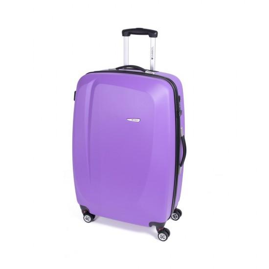 ABS куфар 76 см. лилав – Line